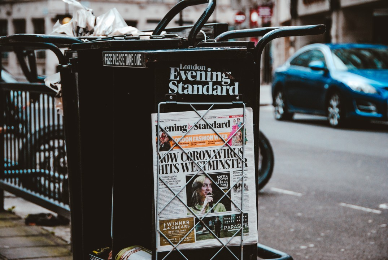 Giornali italiani allarmisti: Infodemia