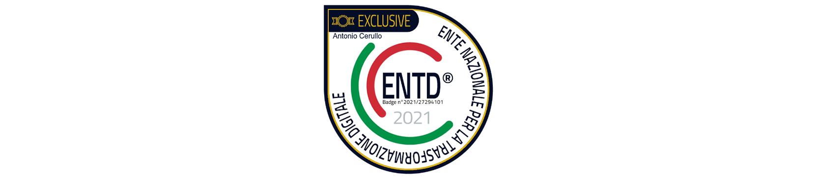 e nazionale per la trasformazione digitale - Badge ENTD Associate Exclusive Antonio Cerullo
