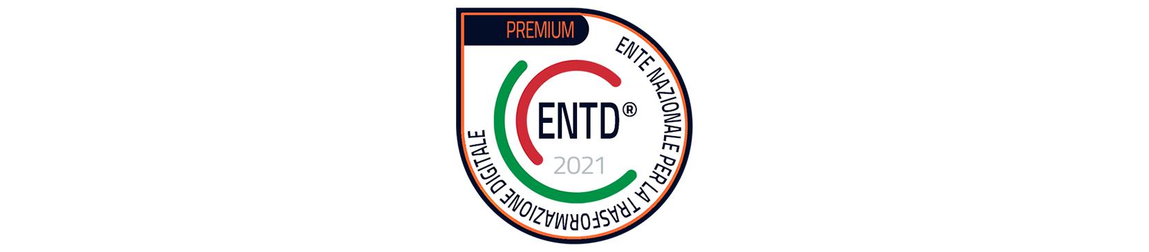 Ente nazionale per la trasformazione digitale - Badge ENTD Associate Premium 2021
