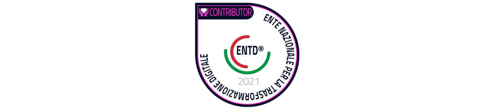 ENTD Contributor Personal Badge