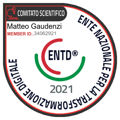 Badge Comitato Scientifico ENTD 2021