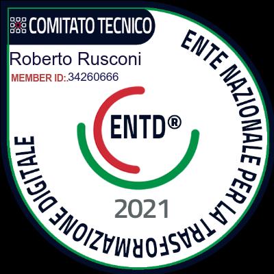 Roberto Rusconi ENTD MEMBER